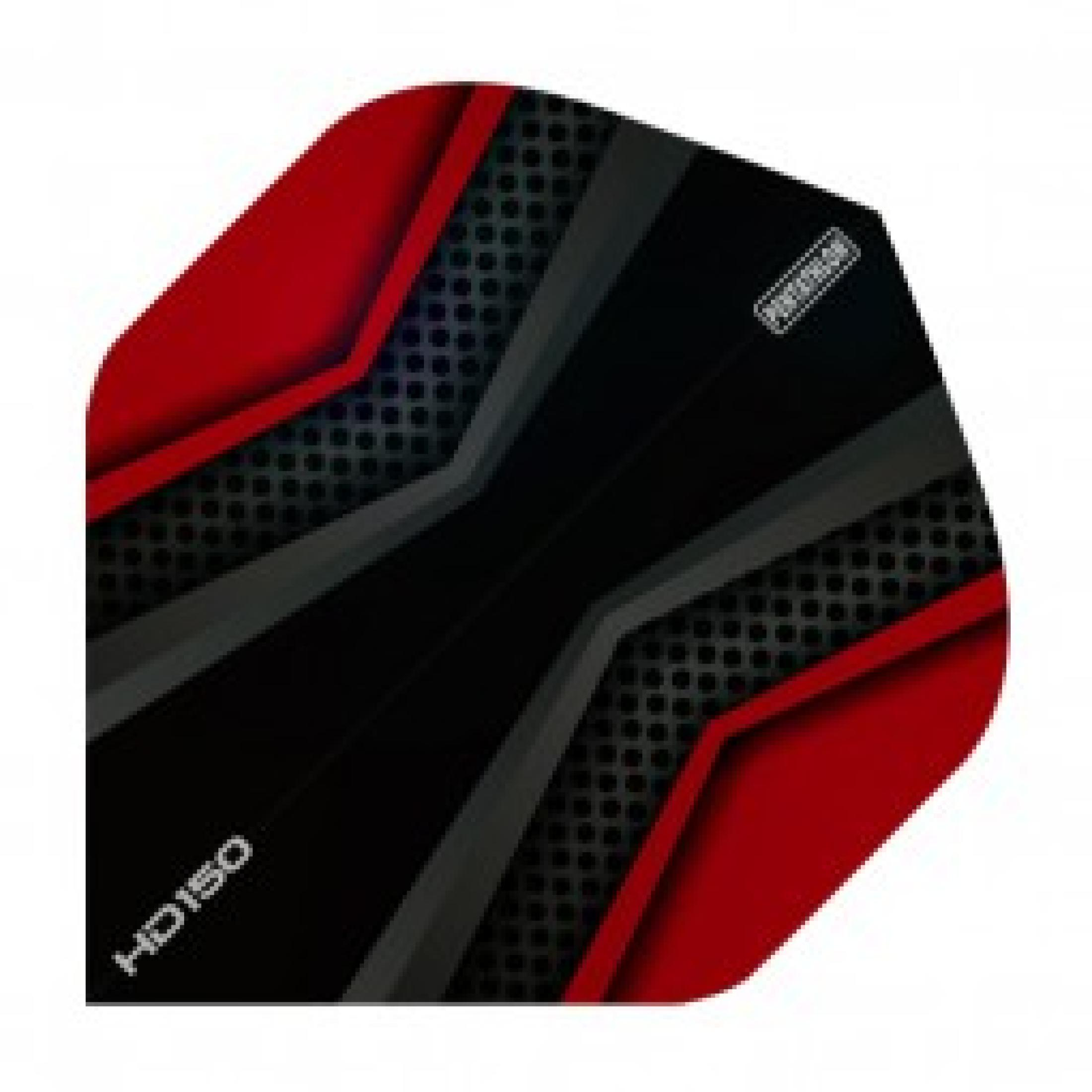 HD 150 Pentathlon Flights Black/Red